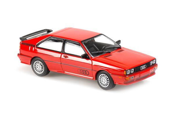 MINICHAMPS 1/43scale Audi Quattro 1981 Red  [No.940019420]