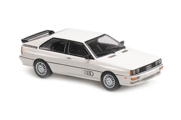 MINICHAMPS 1/43scale Audi Quattro 1981 White  [No.940019421]