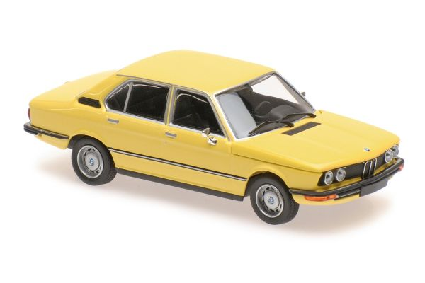 MINICHAMPS 1/43scale BMW 520 – 1972 – YELLOW  [No.940023001]
