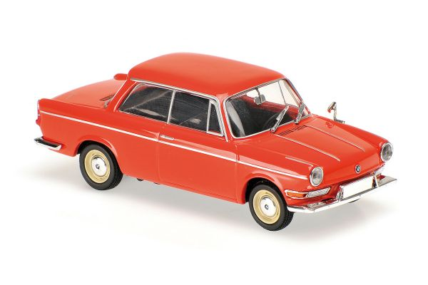 MINICHAMPS 1/43scale BMW 700 LS – 1960 – RED  [No.940023701]
