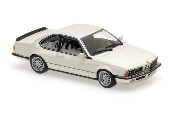 MINICHAMPS 1/43scale BMW 635 CSI (E24) – 1982 – WHITE  [No.940025121]