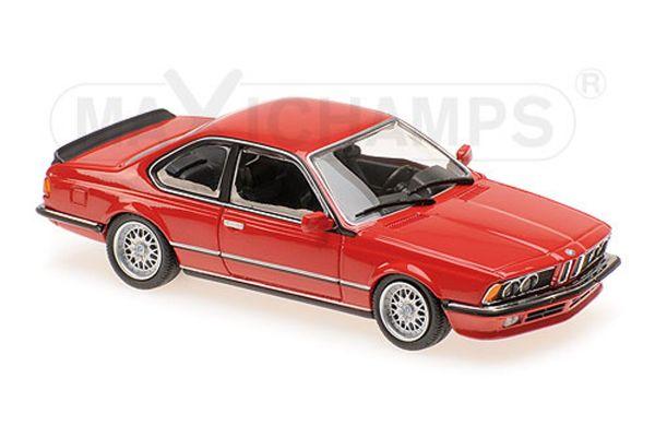 MINICHAMPS 1/43scale BMW 635 CSI (E24) – 1982 – RED  [No.940025122]