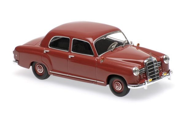 MINICHAMPS 1/43scale MERCEDES-BENZ 180 (W120) – 1955 – DARK RED  [No.940033101]