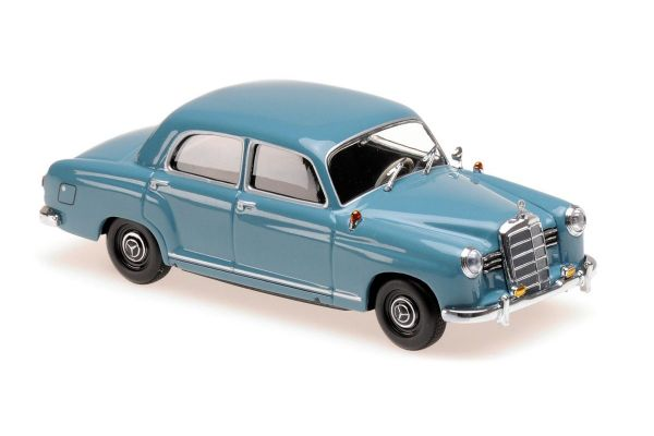 MINICHAMPS 1/43scale MERCEDES-BENZ 180 (W120) – 1955 – BLUE  [No.940033102]
