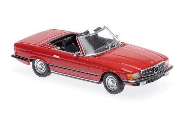 MINICHAMPS 1/43scale MERCEDES-BENZ 350 SL – 1974 – RED  [No.940033432]