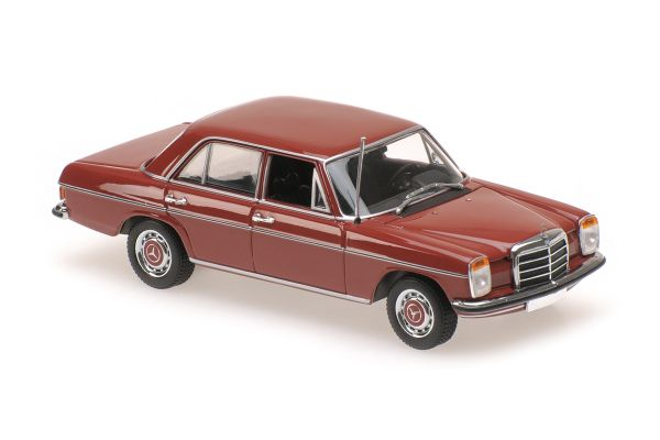 MINICHAMPS 1/43scale MERCEDES-BENZ 200D (W114/115) – 1968 – RED  [No.940034004]
