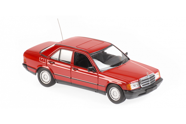 MINICHAMPS 1/43scale Mercedes Benz 190E 1984 Red  [No.940034102]