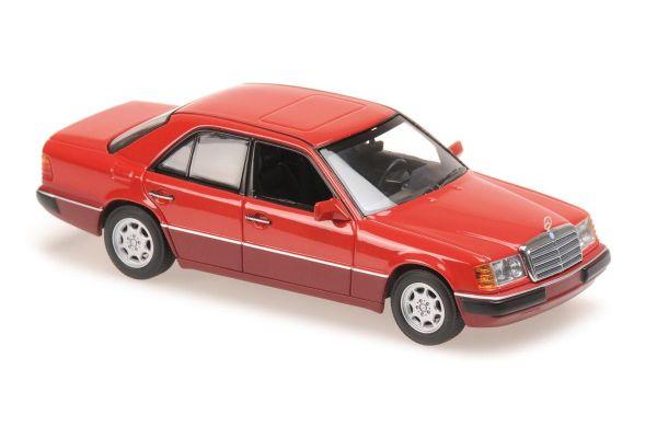 MINICHAMPS 1/43scale MERCEDES-BENZ 230E – 1991 – RED  [No.940037002]