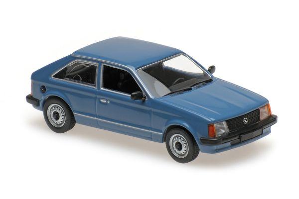MINICHAMPS 1/43scale OPEL KADETT SALOON – 1979 – BLUE  [No.940044100]