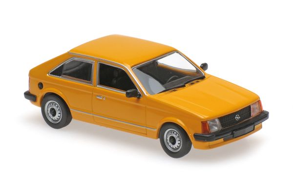 MINICHAMPS 1/43scale OPEL KADETT SALOON – 1979 – ORANGE  [No.940044101]