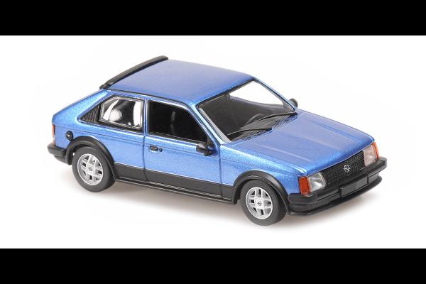 MINICHAMPS 1/43scale Opel Cadet D SR 1982 Blue Metallic  [No.940044120]
