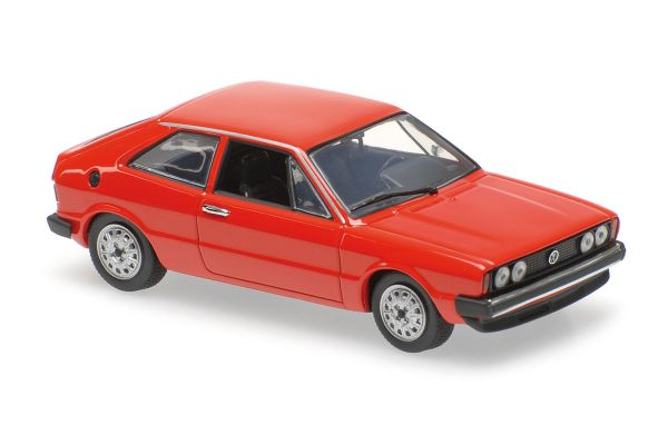 MINICHAMPS 1/43scale VOLKSWAGEN SCIROCCO – 1974 – RED  [No.940050422]
