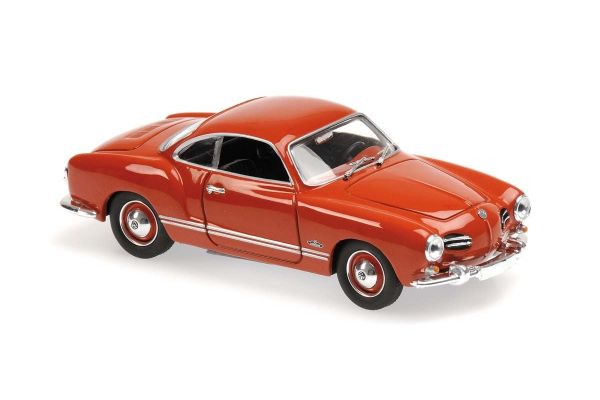 MINICHAMPS 1/43scale Volkswagen Kalman Gear Coupe 1955 Red  [No.940051020]