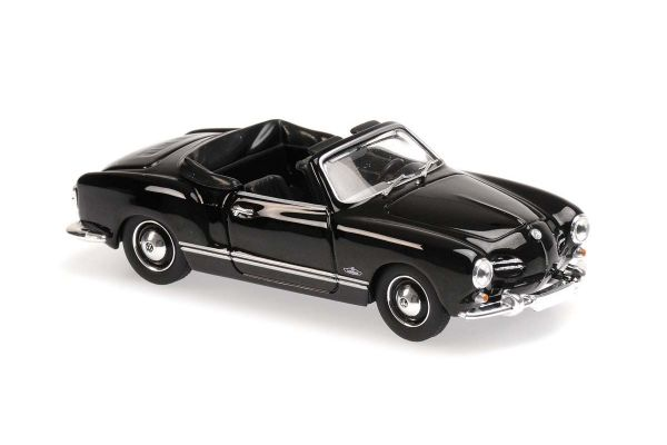 MINICHAMPS 1/43scale Volkswagen Kalman Gear Cabriolet 1955 Black  [No.940051030]
