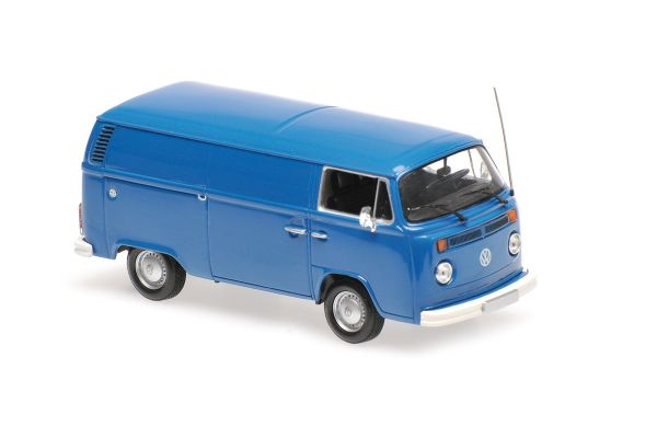 MINICHAMPS 1/43scale VOLKSWAGEN T2 DELIVERY VAN – 1972 – BLUE  [No.940053061]