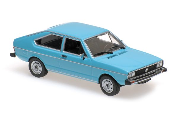MINICHAMPS 1/43scale VOLKSWAGEN PASSAT – 1975 – BLUE  [No.940054200]