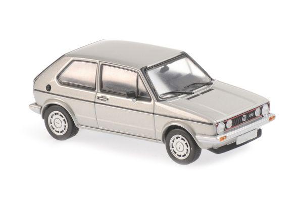 MINICHAMPS 1/43scale Volkswagen Golf GTI 1983 Silver Metallic  [No.940055174]