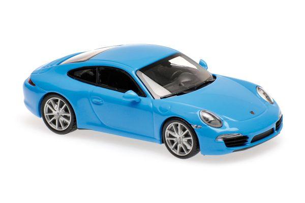 MINICHAMPS 1/43scale PORSCHE 911 S – 2012 – BLUE  [No.940060220]