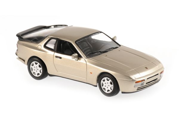 MINICHAMPS 1/43scale Porsche 944 S 1989 Beige Metallic  [No.940062220]