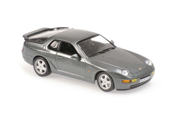 MINICHAMPS 1/43scale Porsche 968 Club Sport 1993 Silver Metallic  [No.940062320]