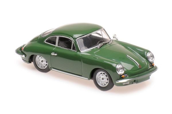 MINICHAMPS 1/43scale PORSCHE 356 CARRERA 2 – 1963 – DARK GREEN  [No.940062360]