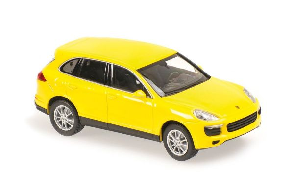MINICHAMPS 1/43scale Porsche Cayenne 2014 Yellow  [No.940063201]