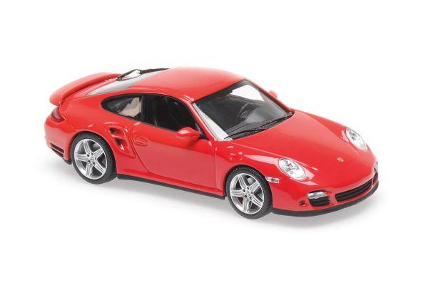 MINICHAMPS 1/43scale Porsche 911 Turbo (997) 2006 Red  [No.940065201]