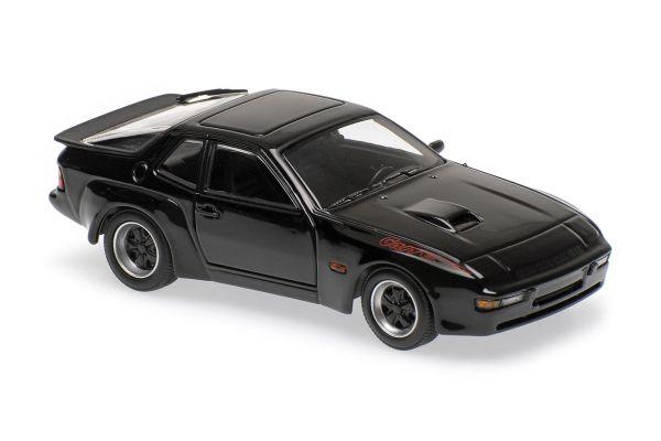 MINICHAMPS 1/43scale PORSCHE 924 GT – 1981 – BLACK  [No.940066124]