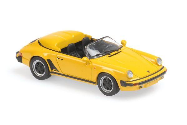 MINICHAMPS 1/43scale Porsche 911 Speed Star 1988 Yellow  [No.940066131]