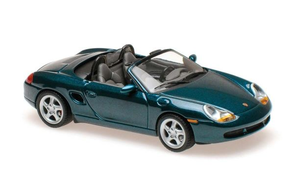 MINICHAMPS 1/43scale Porsche Boxster 1999 Turquoise Metallic  [No.940068031]