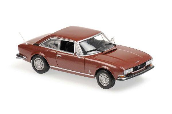 MINICHAMPS 1/43scale Peugeot 504 Coupe 1976 Brown  [No.940112120]