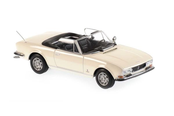 MINICHAMPS 1/43scale Peugeot 504 Cabriolet 1977 White  [No.940112131]