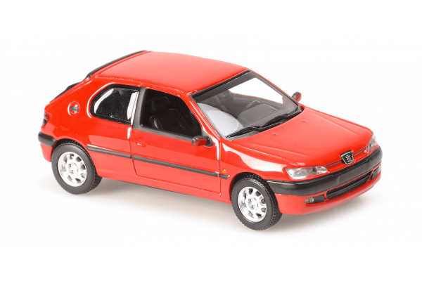MINICHAMPS 1/43scale Peugeot 306-1998-Red  [No.940112800]