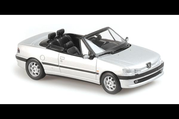 MINICHAMPS 1/43scale Peugeot 306 Cabriolet 1998 Silver  [No.940112832]