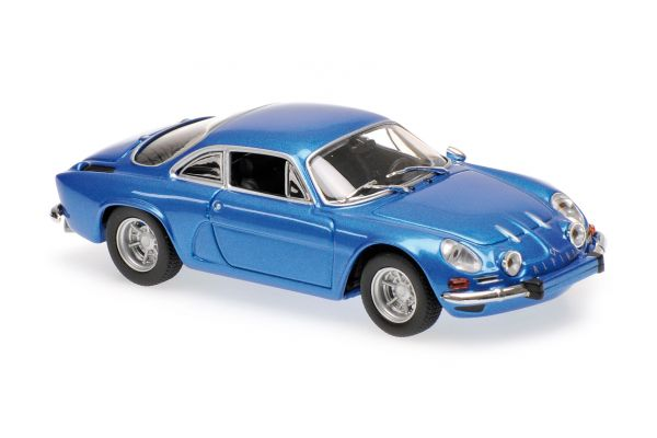 MINICHAMPS 1/43scale RENAULT ALPINE A110 – 1971 – BLUE METALLIC  [No.940113600]