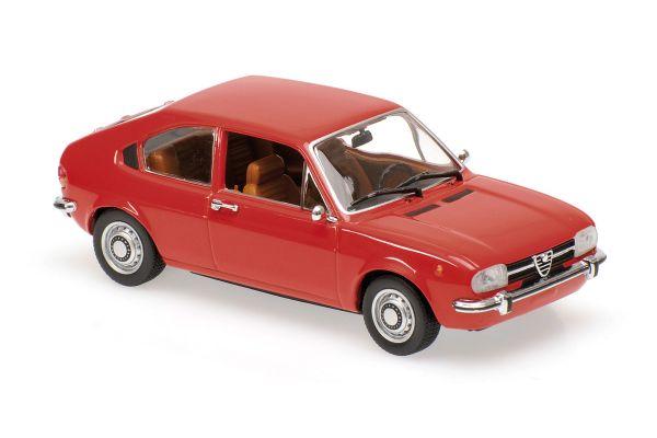 MINICHAMPS 1/43scale ALFA ROMEO ALFASUD – 1972 – RED  [No.940120100]