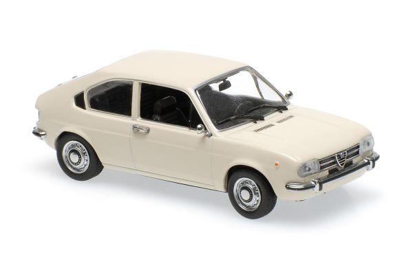 MINICHAMPS 1/43scale ALFA ROMEO ALFASUD – 1972 – WHITE  [No.940120101]