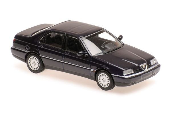 MINICHAMPS 1/43scale ALFA ROMEO 164 3.0 V6 SUPER – 1992 – BLUE  [No.940120700]