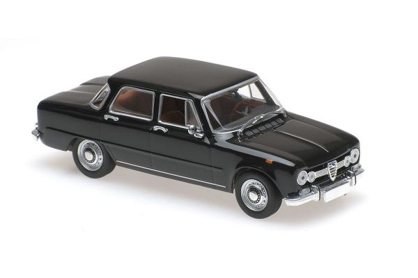 MINICHAMPS 1/43scale ALFA ROMEO GIULIA 1600 – 1970 – DARK BLUE  [No.940120900]
