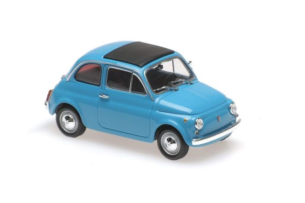 MAXICHAMPS 1/43scale FIAT 500 L – 1965 – BLUE  [No.940121601]
