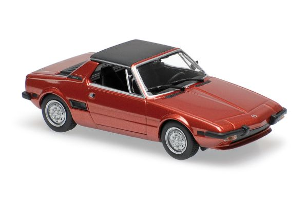 MINICHAMPS 1/43scale FIAT X1/9 – 1974 – RED  [No.940121662]