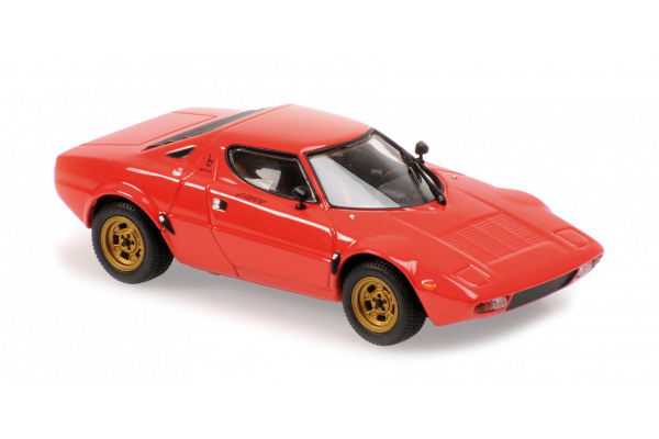 MINICHAMPS 1/43scale Lancia Stratos 1974 Red  [No.940125020]