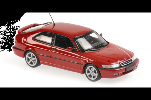 MINICHAMPS 1/43scale Saab 9-3 Viggen 1999 Red  [No.940170860]