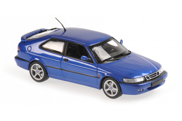 MINICHAMPS 1/43scale Saab 9-3 Viggen 1999 Blue  Metallic  [No.940170861]