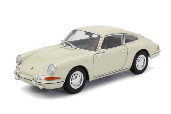WELLY 1/24scale Porsche 911 1964 cream  [No.WE24087CR]