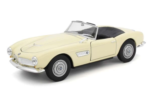 WELLY 1/24scale BMW 507 Convertible Cream  [No.WE24097CR]