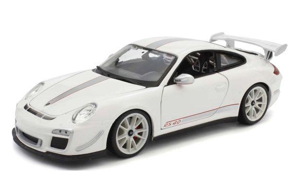 Bburago 1/18scale Porsche 911 GT3 RS4.0 (white)  [No.BUR11036W]