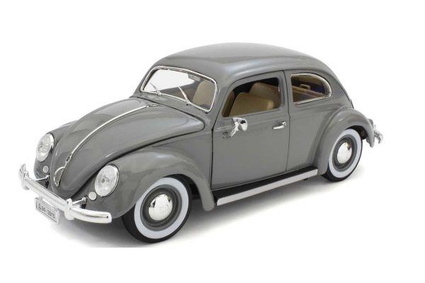 Bburago 1/18scale VW Beetle 1955 (Gray)  [No.BUR12029GR]