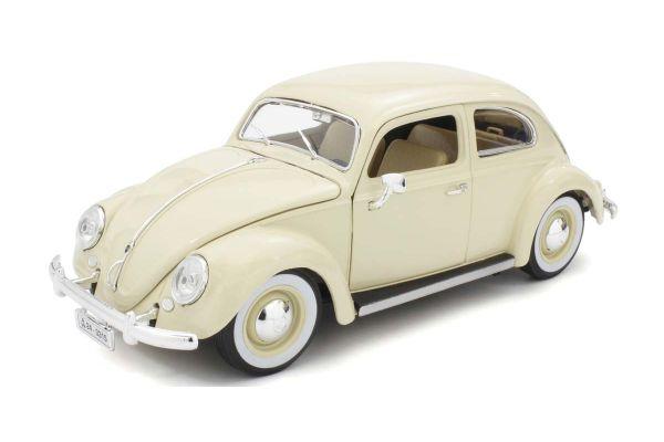 Bburago 1/18scale VW Beetle 1955 (Beige)  [No.BUR12029BE]