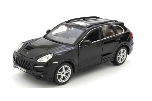 Bburago 1/24scale Porsche Cayenne Turbo Black  [No.BUR21056BK]